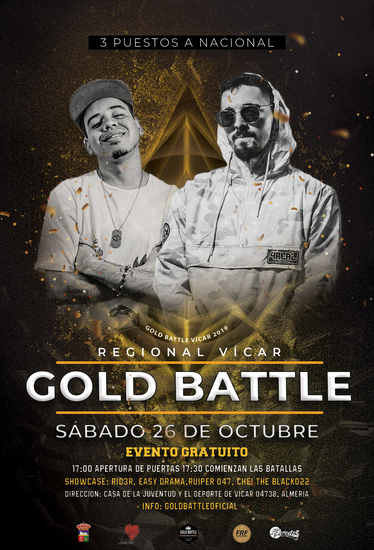 Regional de Gold Battle Vícar 2019